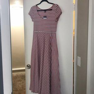 NWT! Chaps Anchor Way Maxi Dress